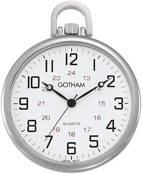 Gotham Silver Tone Railroad