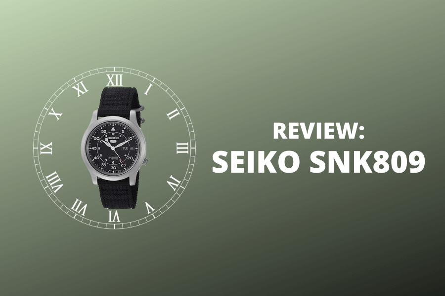 SEIKO SNK809 review