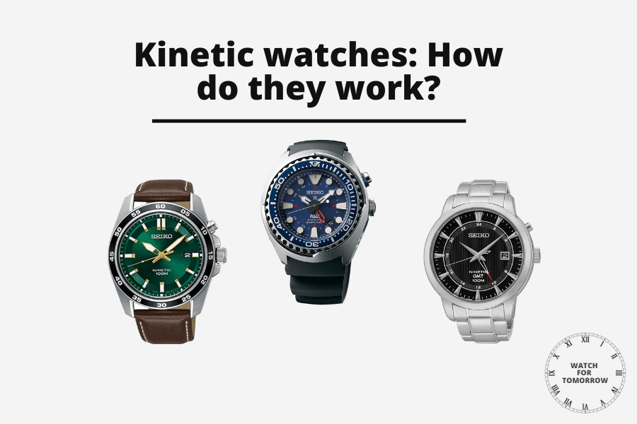 How do kinetic watches work
