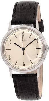 Timex Marlin Hand-Wound Stainless Steel Watch