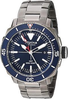 Alpina Men's Seastrong GMT Watch