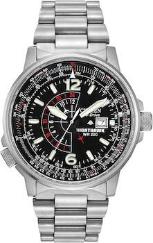 Citizen Men's Eco-Drive Promaster Nighthawk GMT Watch