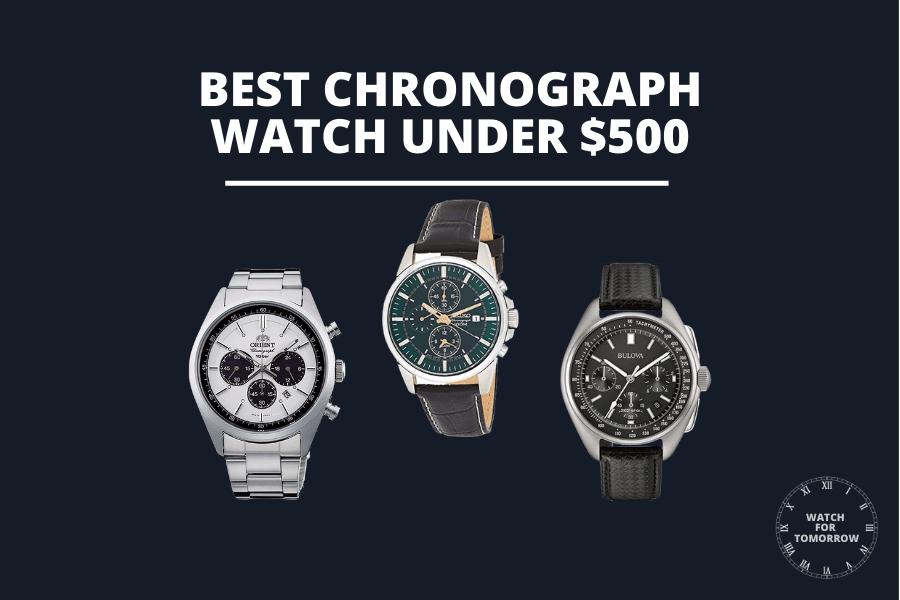 best chronograph watch under $500