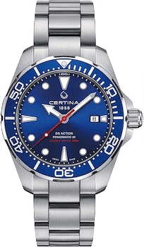 Certina DS Action Diver Blue Dial Watch