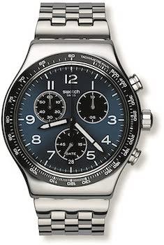 Swatch Irony Quartz Movement Blue Dial Watch