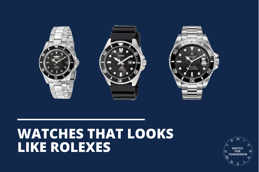 watches that look like rolexes