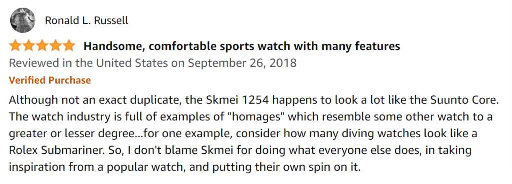 Skmei Review 3